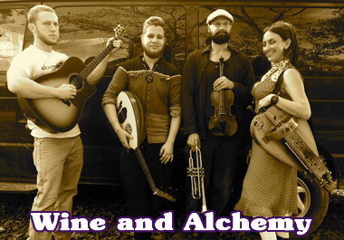 Live Bands - Wine and Alchemy
