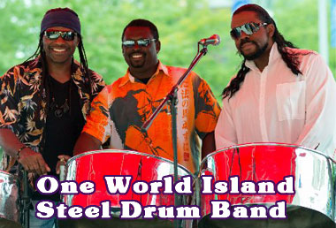 Live Bands - One World Island Steel Drum Band