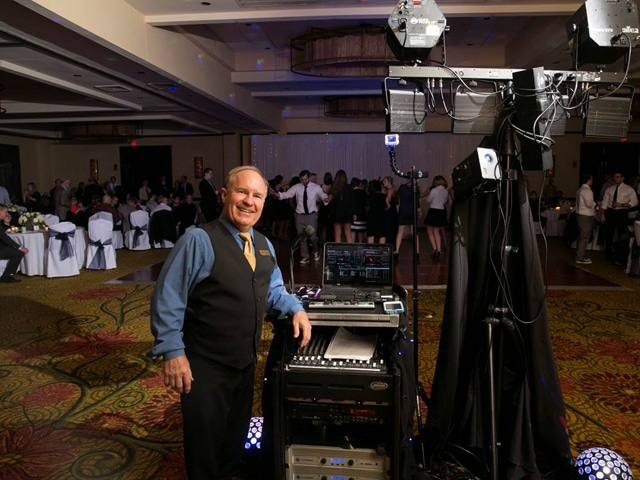 DJ Dean at the Troy Marriott