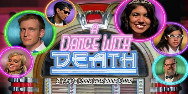 A Dance with Death When a death on the dance floor makes this sock hop a party foul, it is up to you to figure out whodunit and get this dance back on track.