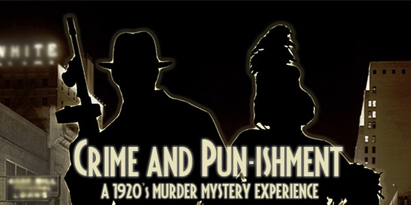 Crime and Pun-ishment Jealous jilted lovers, a rival Mafioso, and even a couple undercover feds make the scene at this speakeasy, and no one's talking.