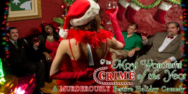 The Most Wonderful Crime of the Year Silver bells are ringing at this seasonal standup performance, but the jolly jokester gets upstaged by an event far worse than bad holiday comedy.